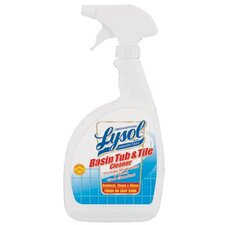 Reckitt Benckiser - Professional Lysol Brand Disinfectant Basin Tub & Tile Cleaners Lysol Disinfectant Ac Free 32Oz: 738-04685 - lysol disinfectant ac free 32oz