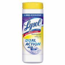 <strong>Lysol</strong> Dual Action Citrus Disinfecting Wipes (Pack of 35)