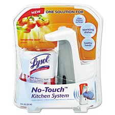 No-Touch Kitchen Soap Dispensing System