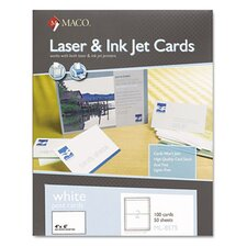 Unruled Index Cards, 100/Box