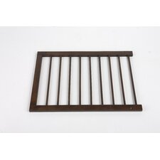 Step Over Gate Extension in Walnut