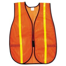 <strong>MCR SAFETY</strong> Polyester Mesh Safety Vest