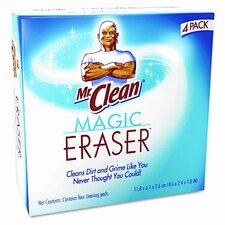 <strong>MR. CLEAN</strong> Magic Eraser Foam Pad, 4 Box