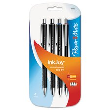 Inkjoy 700 Retractable Ballpoint Pen (4 Pack)