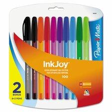 Inkjoy 100 Ballpoint Pen (8 Pack)