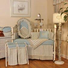 Spa Blue Crib Bedding Collection