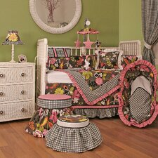 Sleek Slate Crib Bedding Collection