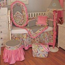 Flirty Flowers Crib Bedding Collection