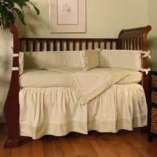 Sherbert Celery 4 Piece Crib Bedding Set