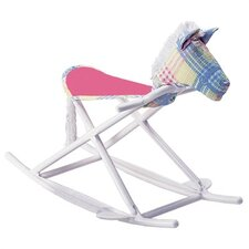 <strong>Hoohobbers</strong> Personalized Rocking Horse in Pastel