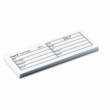 Fax Transmittal Note Pad, 12 Pack