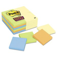3 x 3, Four Colors, 24 90-Sheet Pads/pack