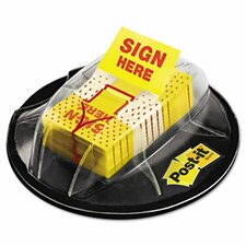 """Sign Here"" Flags with Dispenser (Pack of 200)"