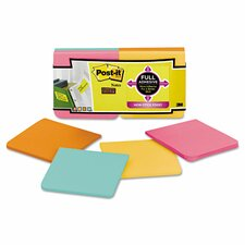 Super Sticky Full Adhesive Note Pad (Set of 12)