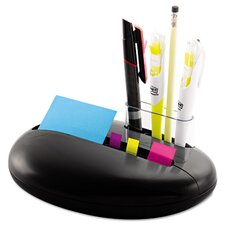 Note and Flag Pebble Dispenser with Pad