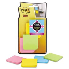 Super Sticky Full Adhesive Note Pad (Set of 8)