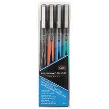 Premier Fine Line Marker (4 Pack)