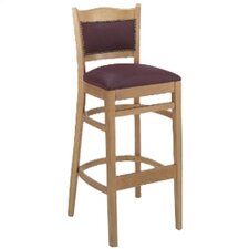 "Classico 30"" Bar Stool with Cushion"