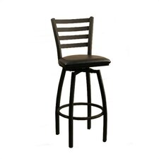 "Swivel Bar Stool - 30"" Empress Ladder Back"