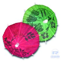 Cocktail Parasols in Assorted Colors