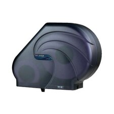 <strong>San Jamar</strong> Oceans Reserva Jumbo Tissue Dispenser with Stub in Black Pearl
