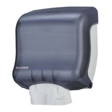 <strong>San Jamar</strong> Classic Mini C-Fold and Multifold Towel Dispenser in Black Pearl