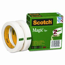 "Magic Tape, 3/4 x2592, 3"" Core, 2 Rls"