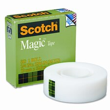 "Magic Office Tape, 3/4"" x 36 Yards, 1"" Core, Clear"