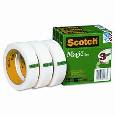 "Magic Tape, 1 x2592, 3"" Core, 3 Rls"