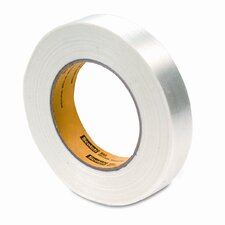 "Filament Tape, 1"" x 60 Yards, 3"" Core"
