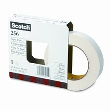 "256 Printable Flatback Paper Tape, 1"" x 20 Yards, 3"" Core, 36 per Box"