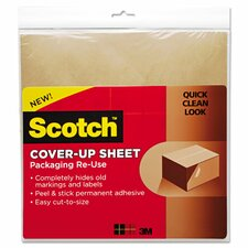 Cover-Up Sheets (Pack of 6)