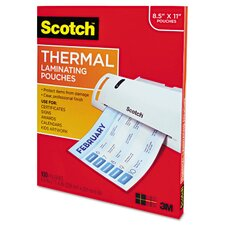 <strong>Scotch®</strong> Thermal Laminating Pouches (Pack of 100)