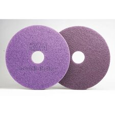 "17"" Diamond Floor Pad in Purple"
