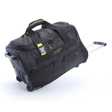 "<strong>A.Saks</strong> Expandable 20"" 2-Wheeled Travel Duffel"