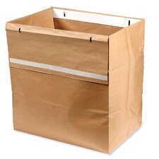 Shredder Bags, Recyclable, 50/BX, Brown