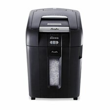 Stack-and-Shred 500X Heavy-Duty Cross-Cut Shredder, 500 Sheets