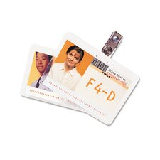 GBC HeatSeal ID Badge Laminating Pouch (Pack of 25)