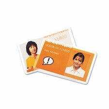 GBC Fusion UltraClear ID Badge Laminating Pouches (Pack of 100)