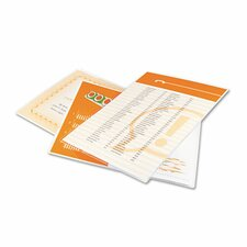 GBC HeatSeal Letter Laminating Pouches (Pack of 25)