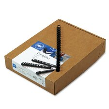 GBC Standard CombBind 90-Sheet Spines (Pack of 100)