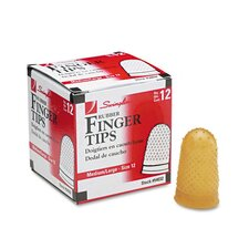 Rubber Finger Tips (Pack of 12)