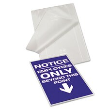 GBC Fusion EZUse Letter Laminating Pouches (Pack of 100)