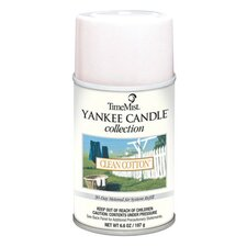 Yankee Candle Clean Cotton Air Freshener Refill - 6.6 Oz / 12 per Case