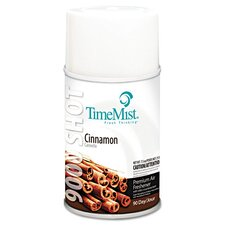 9000 Shot Metered Air Freshener with Cinnamon Scent 7.5 oz.  (Carton of 4)
