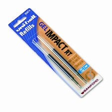 Refill for Gel Impact RT Roller Ball Pens, 2/Pack