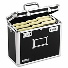 <strong>Vaultz®</strong> Locking File Tote Storage Box