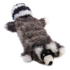 <strong>Kyjen</strong> Plush Puppies Squeaker Real Animal Raccoon Dog Toy