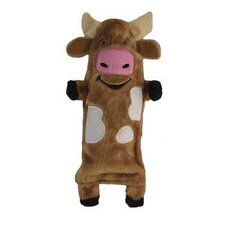 <strong>Kyjen</strong> Plush Puppies Water Bottle Buddies Cow Dog Toy