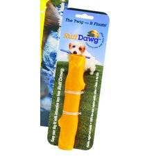 Dog Twig Dog Toy in Orange